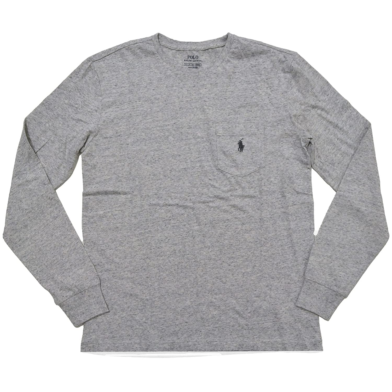 Amazon.com: Polo Ralph Lauren Men Long Sleeve Pony Logo T-Shirt: Clothing
