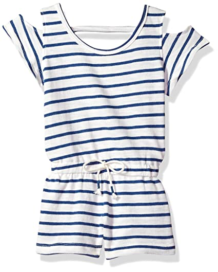 71957a82054c Amazon.com  One Step Up Girls  French Terry Romper  Clothing