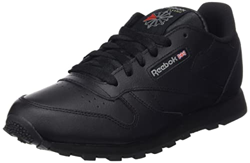 Reebok Classic Leather, Zapatillas de Running Niños, Negro (Black), 34.5 EU: Amazon.es: Zapatos y complementos