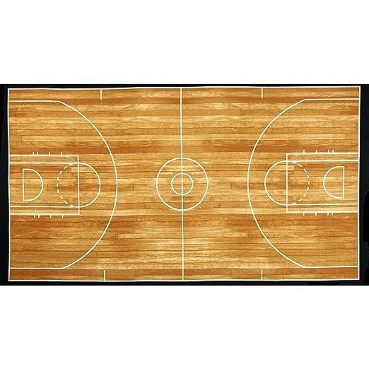 Kaufman Sports Life cancha de baloncesto marrón 24 in. Panel Tela ...