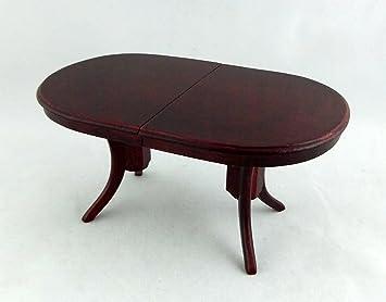 Schottische Möbel puppenhaus feine miniatur esszimmer möbel mahagoni schottische oval