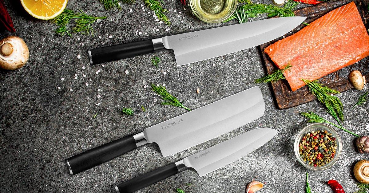Amazon.com: Juego de cuchillos Kamikoto Kanpeki: Kitchen ...