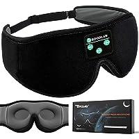 Sleep Headphones Bluetooth 3D Eye Mask, Boodlab 3D Wireless Sleeping Headphones Sleep Mask with Ultra-Thin HD Stereo…