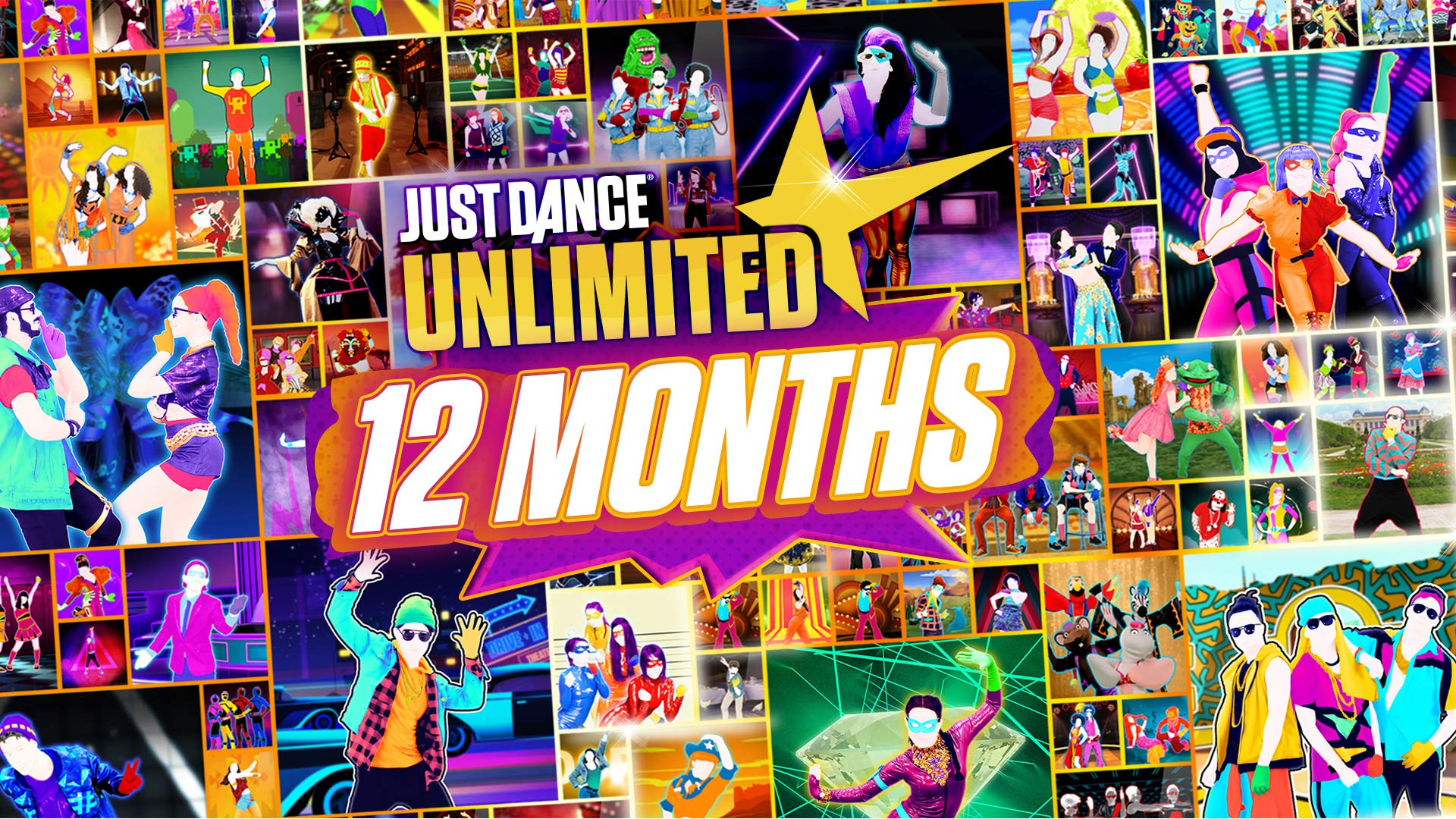Just Dance Unlimited 365 Days - Nintendo Switch [Digital Code] by Ubisoft