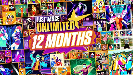 Amazon Com Just Dance Unlimited 365 Days Nintendo Switch Digital Code Video Games