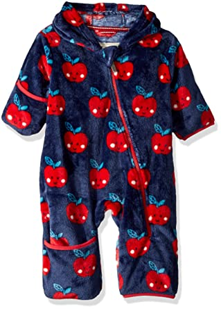 Hatley Baby-Jungen Fuzzy Fleece Bundler Body