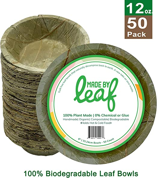Made By Leaf 100% biodegradable compostable cero residuos 6 ...