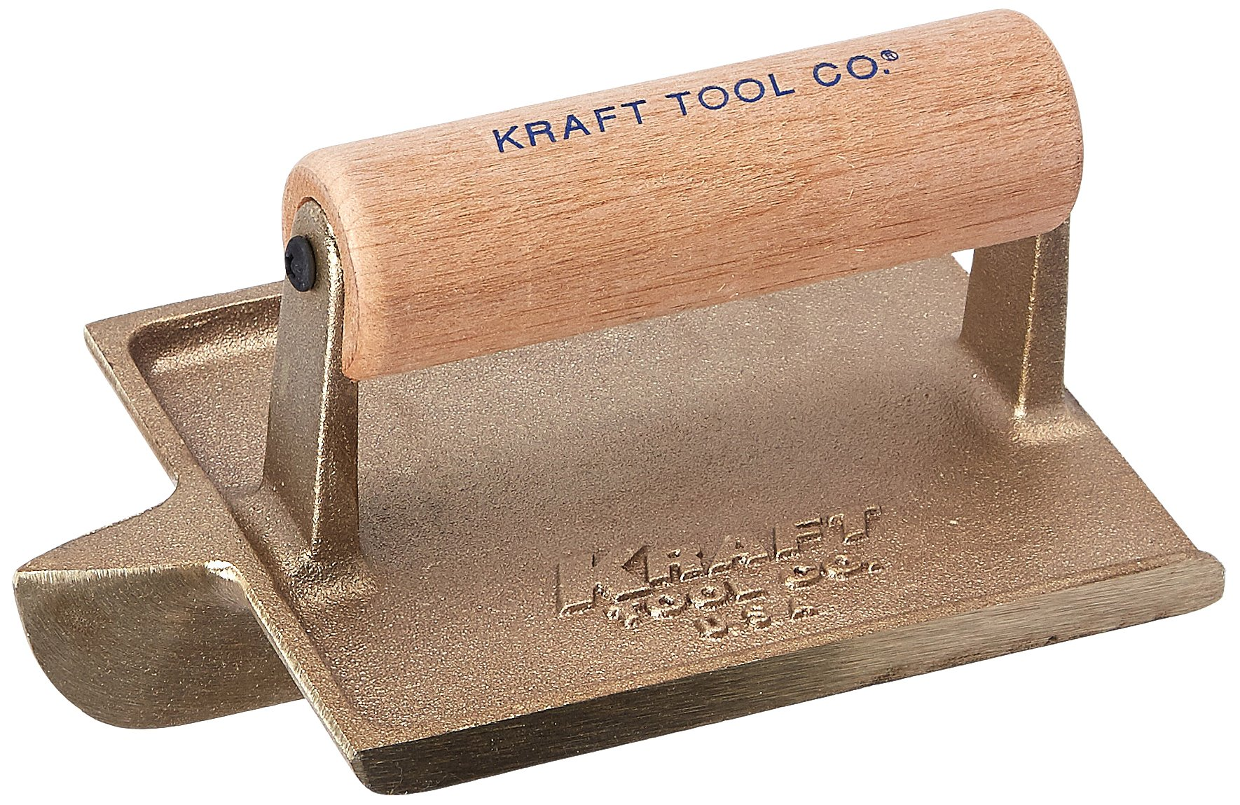 Kraft Tool CF314 Deep Bit Bronze Groover with Wood Handle, 6 x 4-1/2-Inch by Kraft Tool