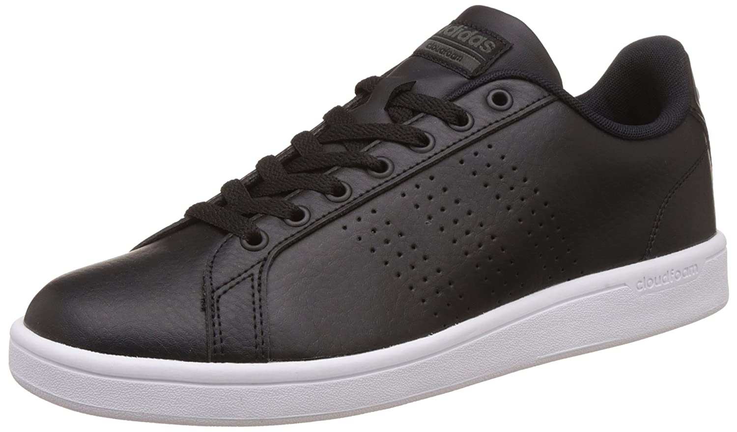 basket adidas homme cuir noir style photography for stationery