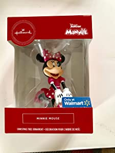 Hallmark Christmas Ornament, Minnie Mouse in Pink Polka Dots, Multicolor