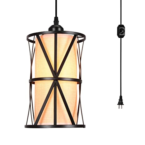 Amazon.com: HMVPL - Lámpara de techo colgante de transición ...