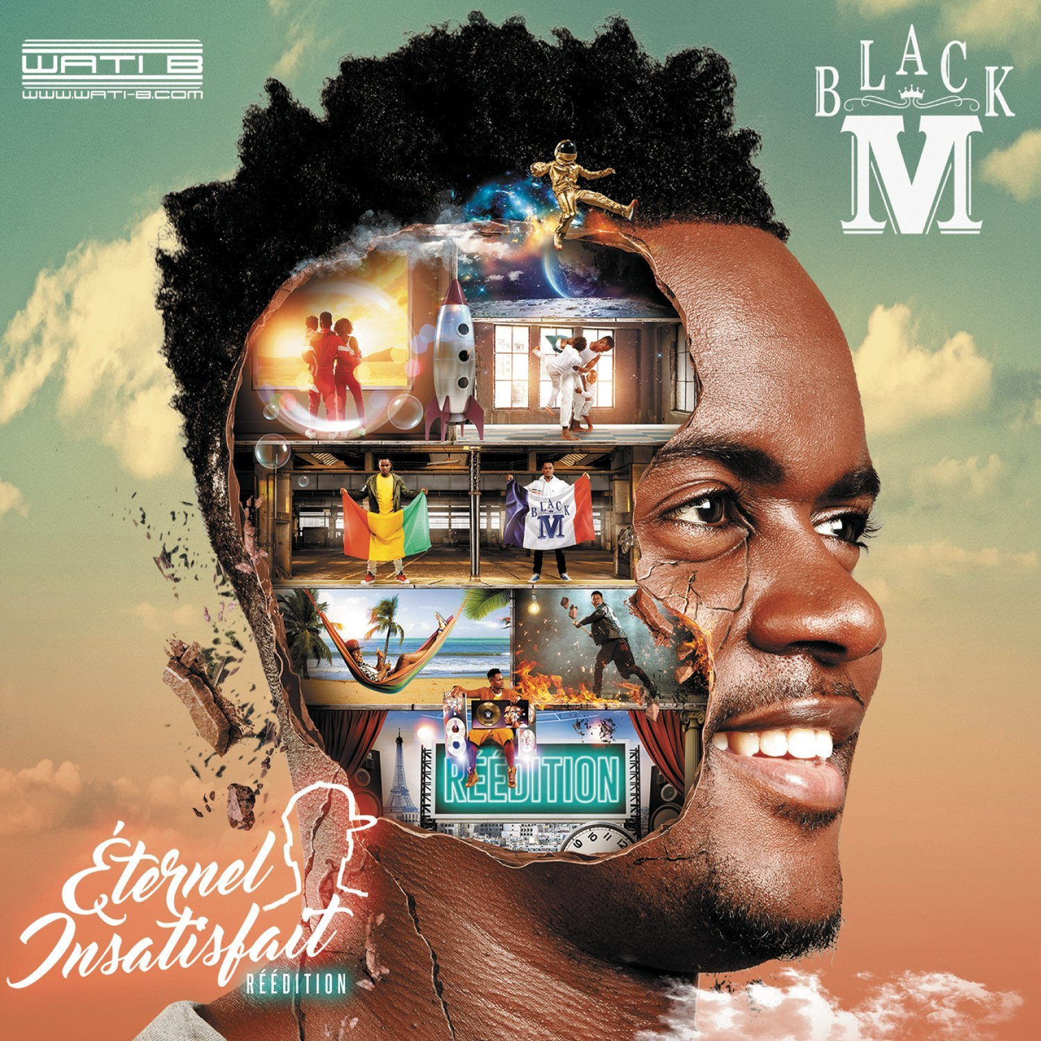 black m reedition eternel insatisfait