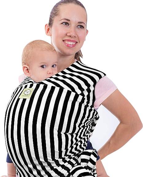 Portabebés elástico todo en 1 para bebé, correa para bebé ...