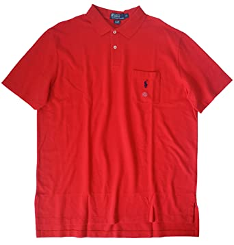c341159b83b9 Polo Ralph Lauren Men s Classic Fit Pocket Mesh Polo at Amazon Men s  Clothing store  Polo Shirts
