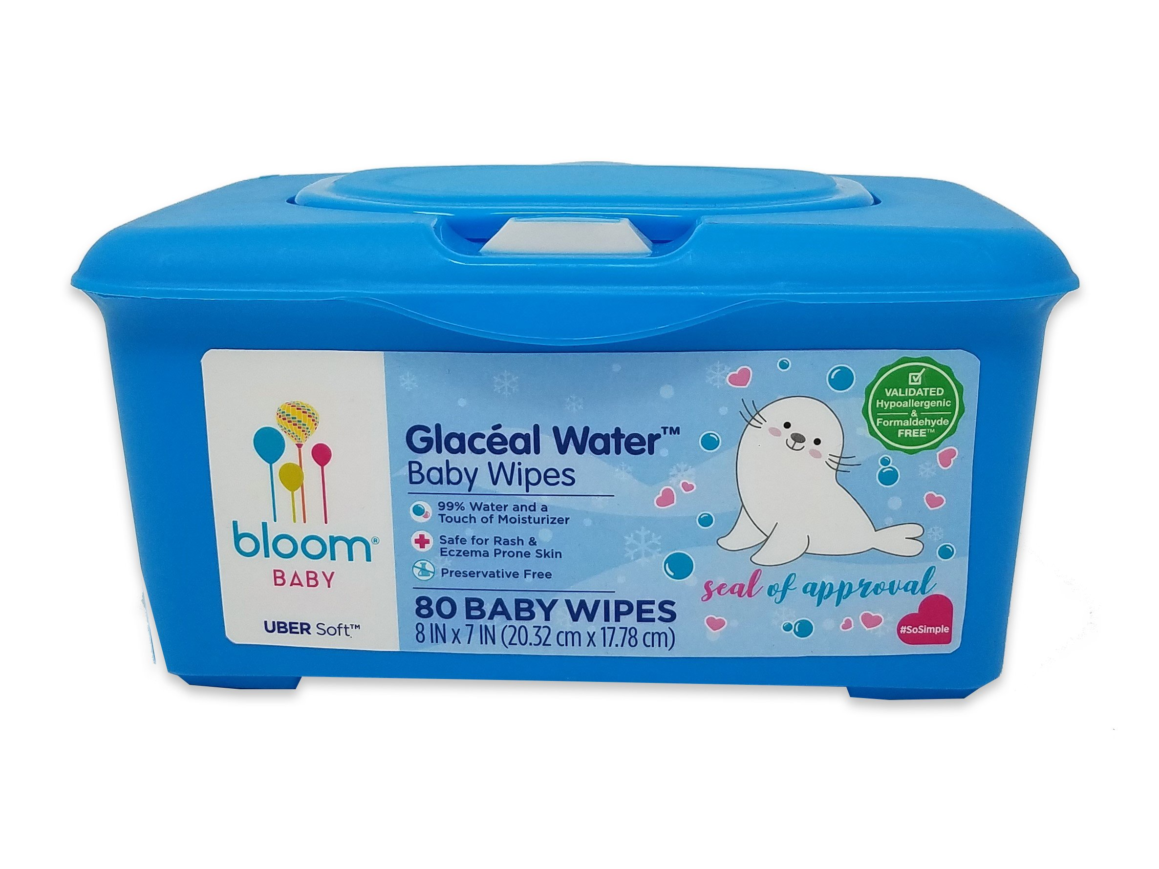 """Glacial Water Baby Wipes by bloom BABY 