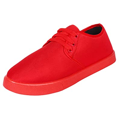 a0ab60d46237 Shoefly Men Red -800 Sneakers  Buy Online at Low Prices in India - Amazon.in