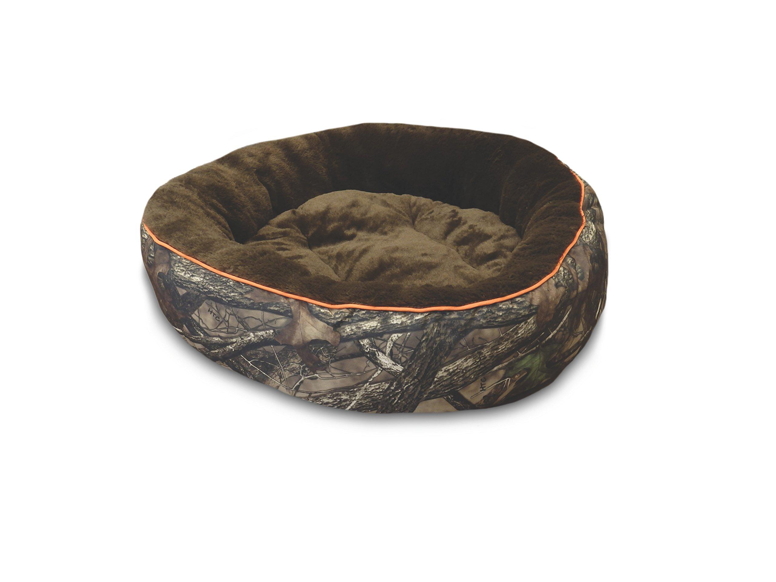 True Timber 28'' Round Camo Pet Bed
