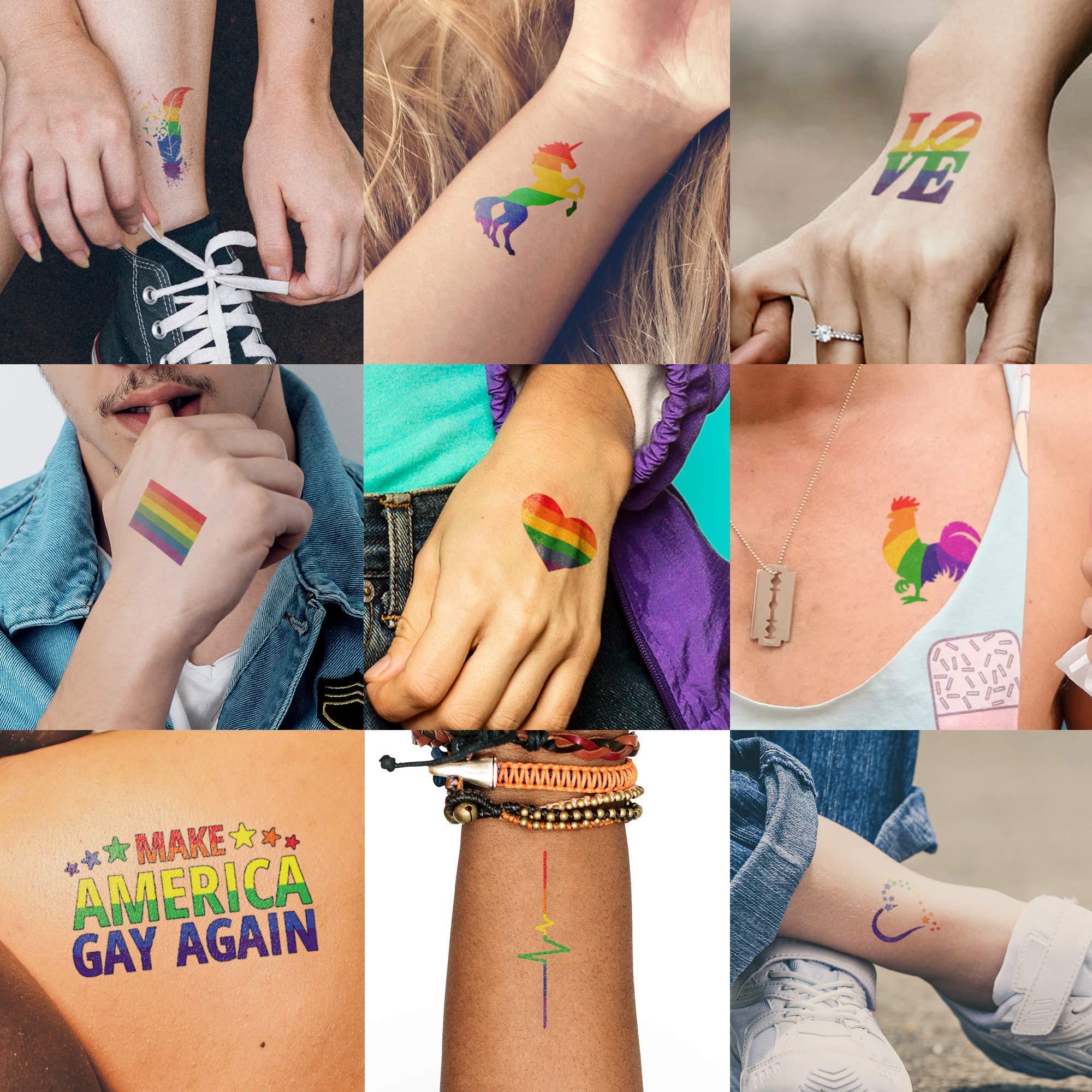 Super Mega Deluxe Pride Set | 100+ Pride Tattoos by Ink Daze