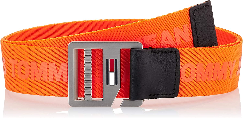 Tommy Jeans Repeat Logo Webbing Strap Cintura Uomo