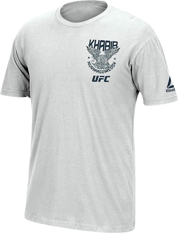 Estereotipo Legítimo monigote de nieve  Amazon.com: Reebok Men's UFC Khabib-Spirit Animal-Short Sleeve Tee: Clothing