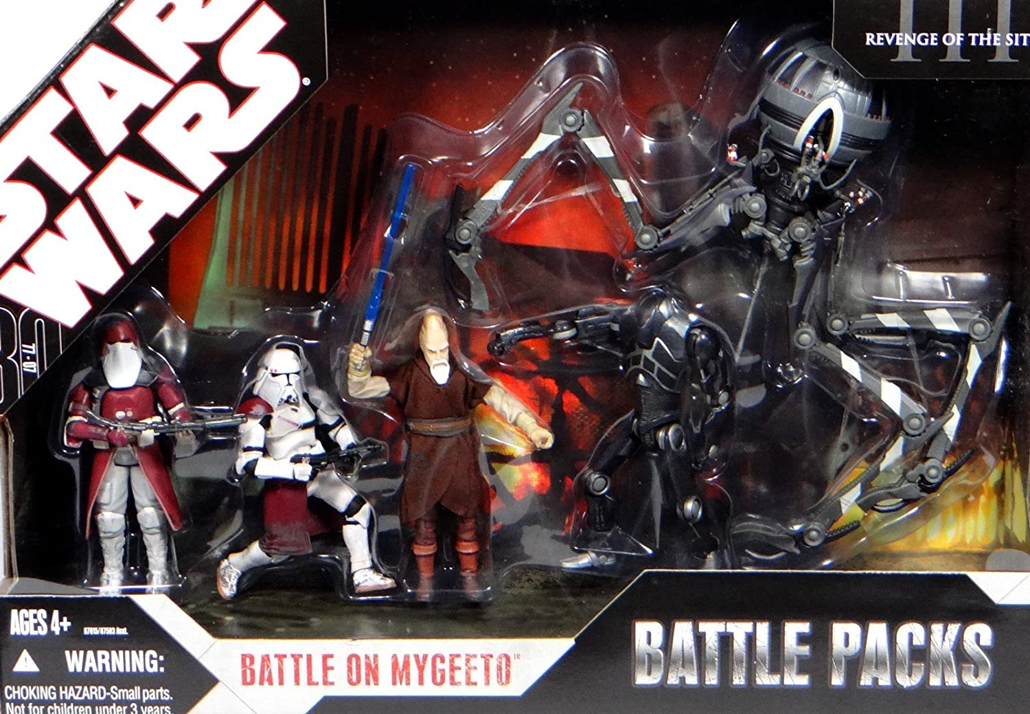 Star Wars Battle Pack: Battle on Mygeeto: Amazon.es: Juguetes y juegos