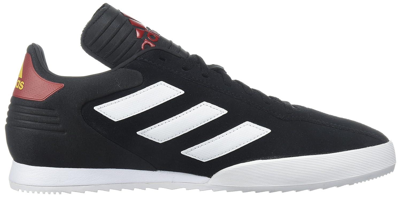 best service e6599 0d664 Zapatillas adidas Super Soccer para hombre Negro   Blanco   Rojo de Poder