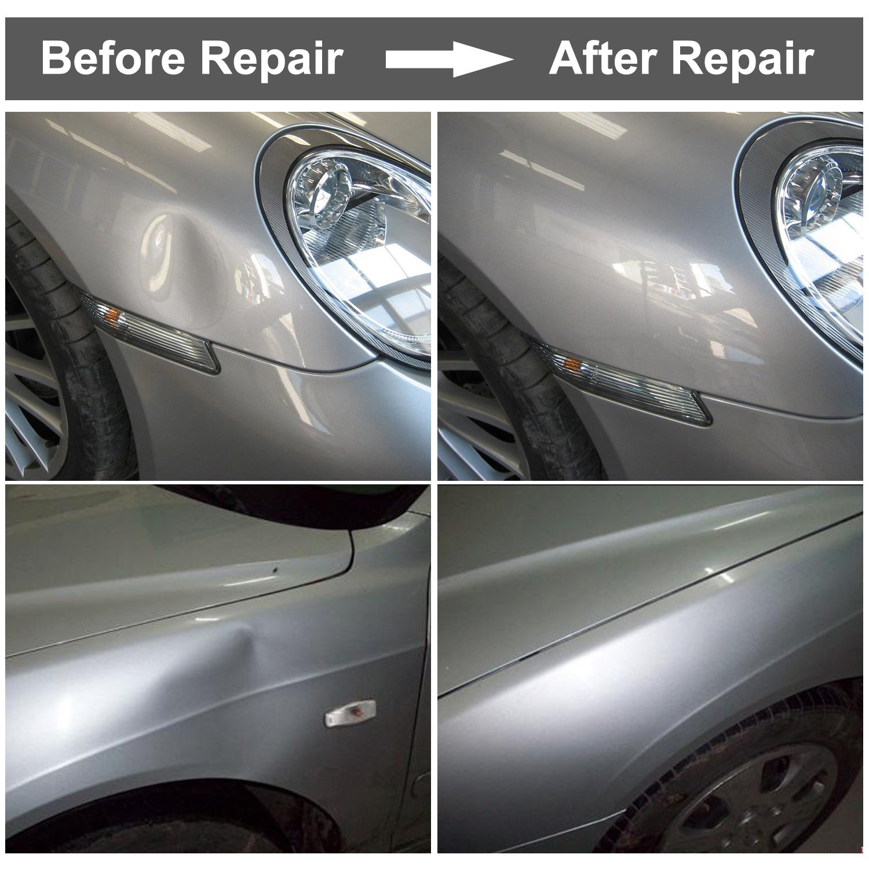 GLISTON 5pcs Auto Trim Removal Tool Car Pry Tool Kit Door Panel Clip Removal Set for Vehicle Dash Radio Audio Installer