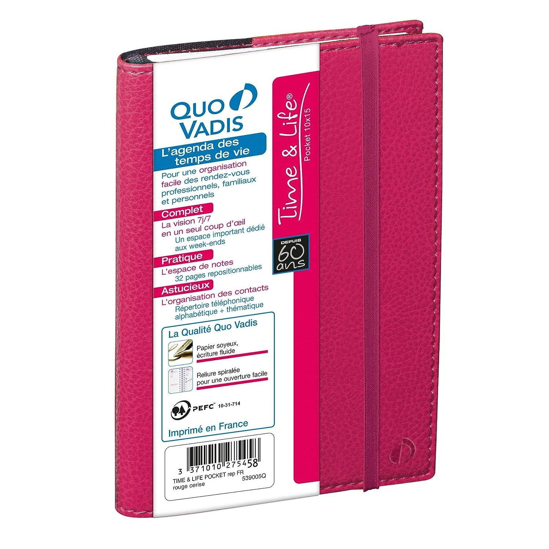 Quo Vadis - Agenda semanal (Time & Life Pocket rosa - 10 x ...