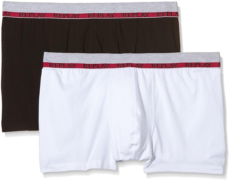 Replay Men's Pack 2 Retro NOOS Boxer Shorts