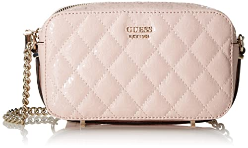 Guess Damen Tiggy Crossbody Camera Umhängetasche, Pink