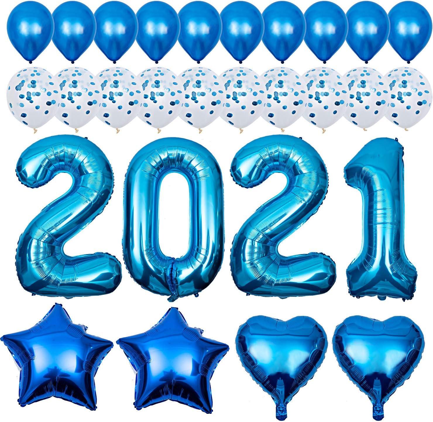300x Balloons Balloons Balloon Air Helium Blue Wedding Deco Decoration