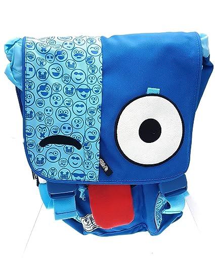 Mochila espíritu emoticones Azul Escuela niñas