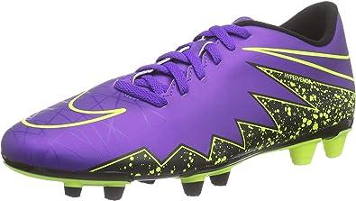 Ten confianza prioridad su  Nike Hypervenom Phade II FG, Botas de fútbol para Hombre, Morado/Negro/Verde  (Hyper Grape/Hypr Grape-Blk-Vlt), 44 1/2 EU: Amazon.es: Zapatos y  complementos