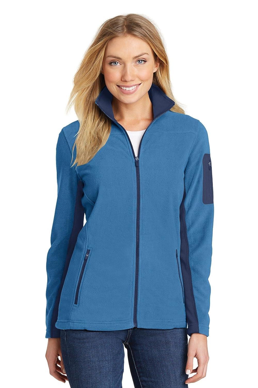 Regal bleu  Robe bleu Navy XXL Port Authority pour Femme en Polaire zippé pour Femme