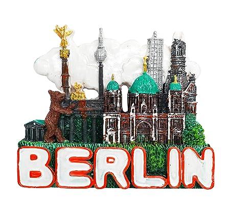 zamonji Catedral de Berlín, Alemania 3D Imanes para Refrigerador ...