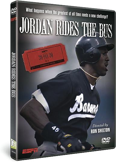 Entrelazamiento Electrizar Aspirar  ESPN 30 for 30 Jordan Rides the bus [DVD]: Amazon.co.uk: Ron Shelton: DVD &  Blu-ray