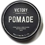 Hair Pomade for Men by Victory Barber & Brand   Men's Hair Products from a Canadian Brand   Water Based Pomade for Men   Hair