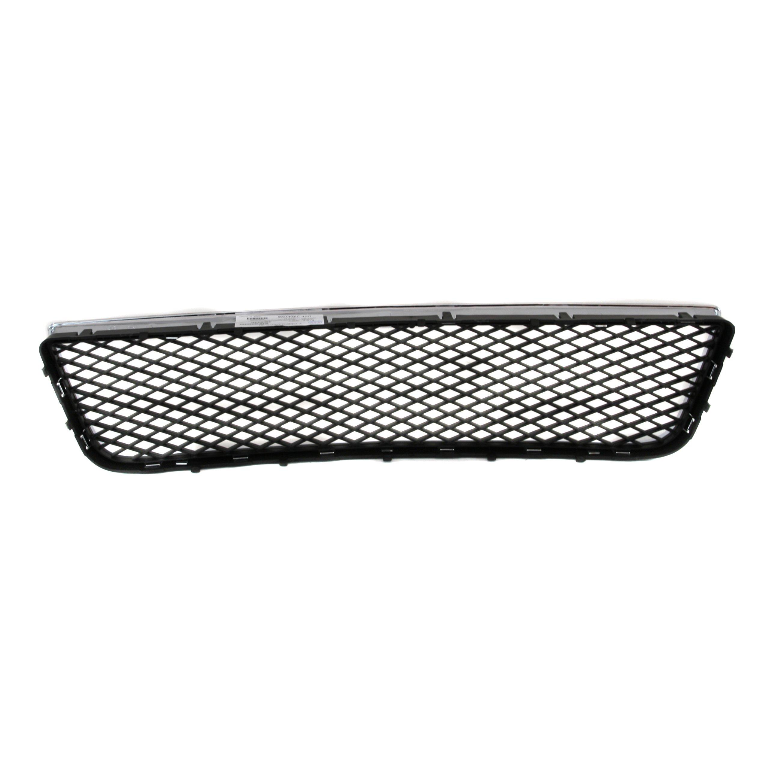 CarPartsDepot, Front Bumper Lower Matte Black Mesh Grille Chrome Trim Frame, 363-15104 GM1036107 10333712 by CarPartsDepot (Image #1)