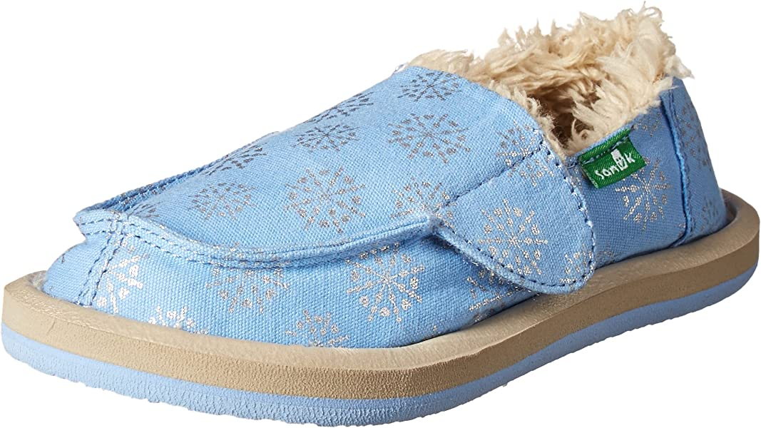 e664b9b0639 Sanuk Kids Donna Lil Icon Chill Slipper (Toddler Little Kid Big Kid)