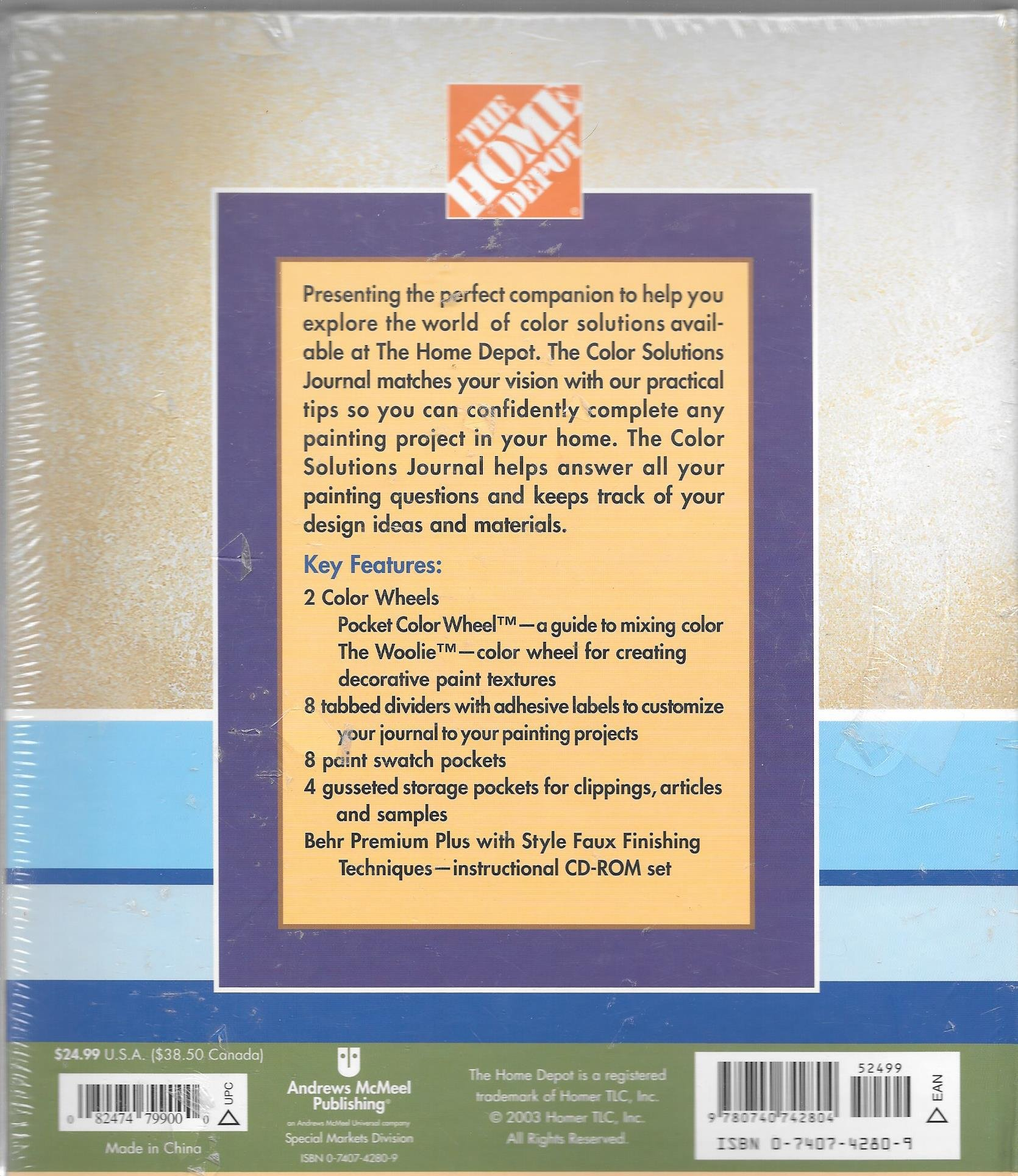 Color Solutions Journal: The Home Depot: 9780740742804: Amazon.com ...
