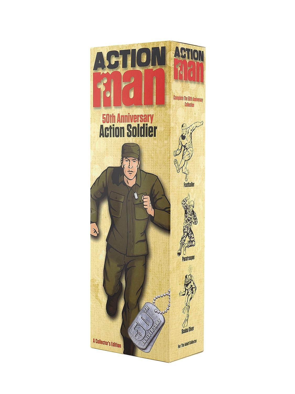 Action Man am712 50. Jahrestag Soldier Figur