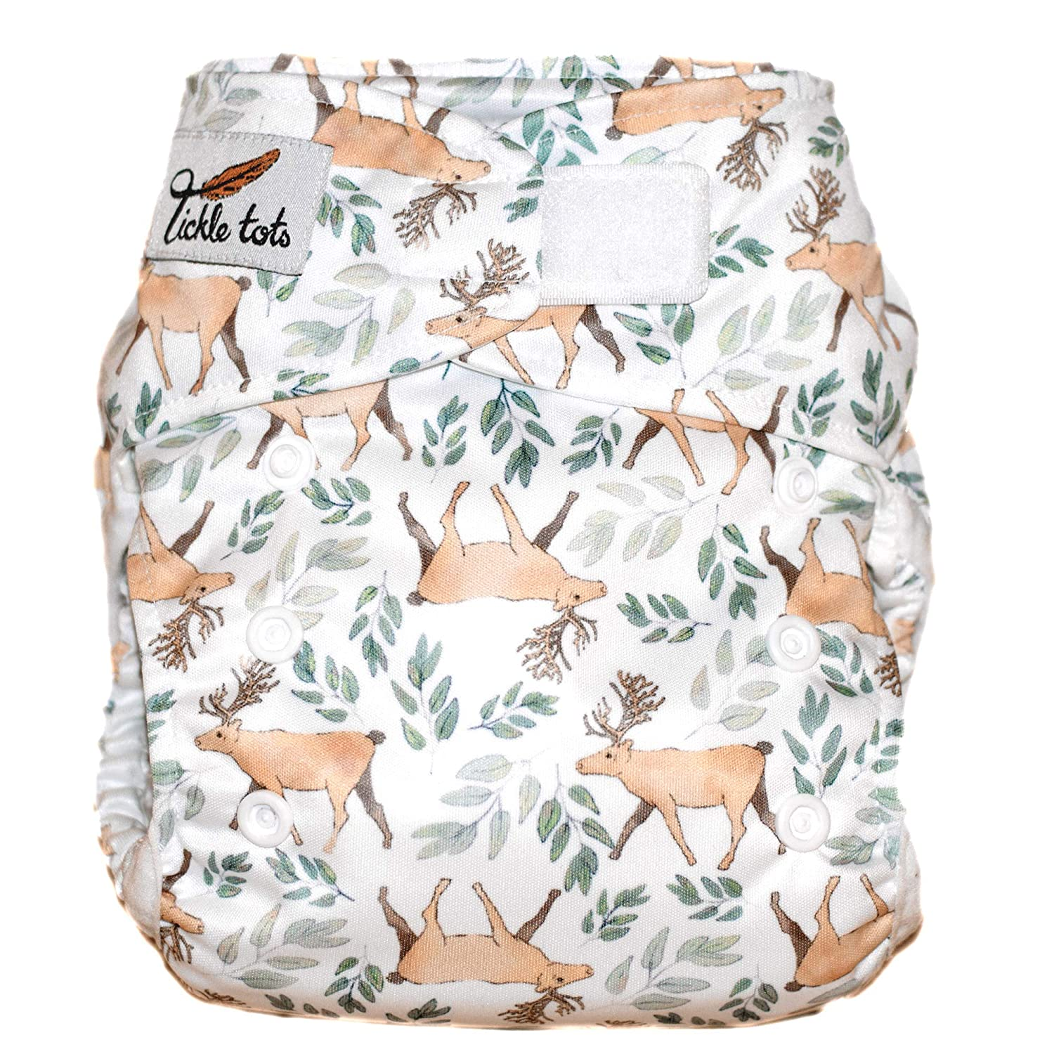 Tickle Tots All-in-One Nappy, Stags Design