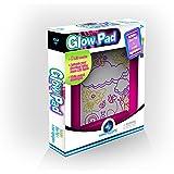 Mindscope Light Up LED GLOW PAD PINK Animator with Glow Markers
