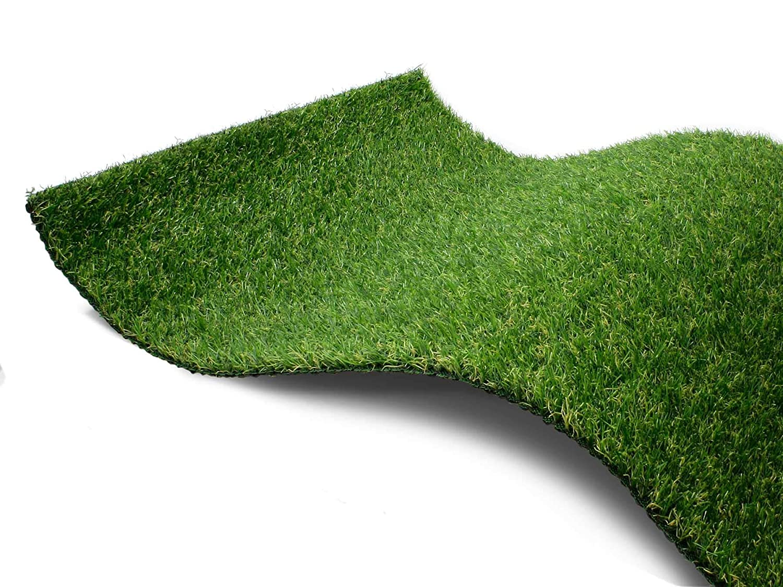 vidaXL Kunstrasen 1,5x10m 40mm Gr/ün Rasenteppich Fertigrasen Gras Teppich