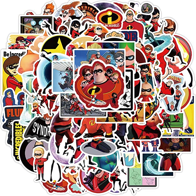 The Incredible_s Stickers Pack Waterproof Stickers