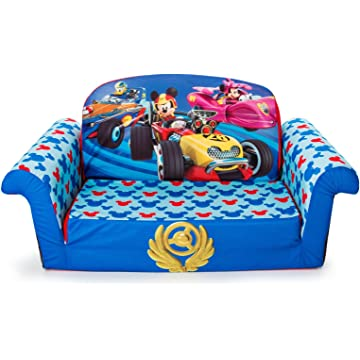 Marshmallow Furniture Mickey Mouse Roadsters Flip Open