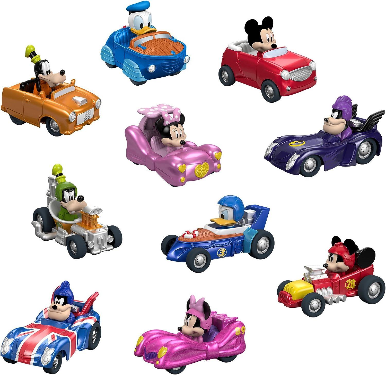 Fisher-Price Disney Junior Mickey /& the Roadster Racers Mickeys Racin Wheels
