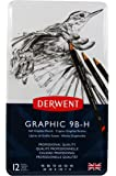 Derwent Graphic Sketching Set Tin 12 (Soft Grades)
