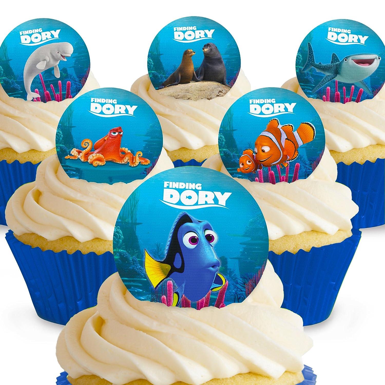 Finding Dory Nemo Edible A4 Birthday Cake Topper Amazon Grocery