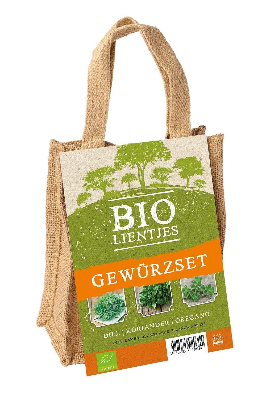 Pflanz-Set Bio Gewürze Dill Koriander Oregano Gartenkräuter von notrash2003® notrash2003®